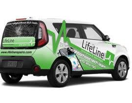 #20 untuk Design wrap for our mobile solution car, phone company oleh manfredslot