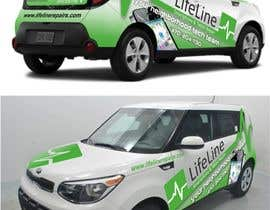 #27 untuk Design wrap for our mobile solution car, phone company oleh manfredslot