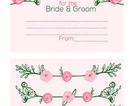 #12 cho Design some Stationery for wedding advice cards bởi ancadc
