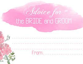 #15 cho Design some Stationery for wedding advice cards bởi ancadc