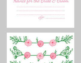 #22 cho Design some Stationery for wedding advice cards bởi ancadc