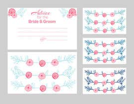 #24 cho Design some Stationery for wedding advice cards bởi ancadc