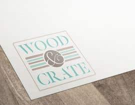 Nro 21 kilpailuun Design a Logo for Wood & Crate käyttäjältä vladspataroiu