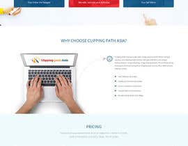 #20 for Design a Website Mockup for clippingpathasia.com by syrwebdevelopmen