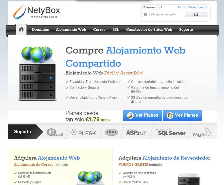 Inscrição nº 250 do Concurso para Design a Logo for a company of hosting and services.