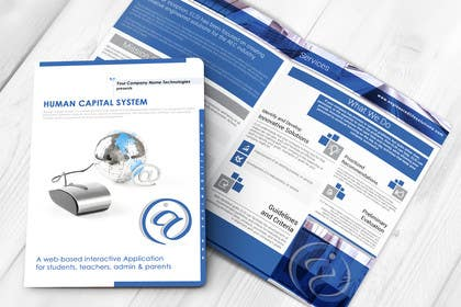 #30 untuk Re-Design of Human Capital System Brochure oleh LeeniDesigns