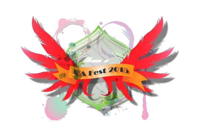 Penyertaan Peraduan #12 untuk RA Fest Logo