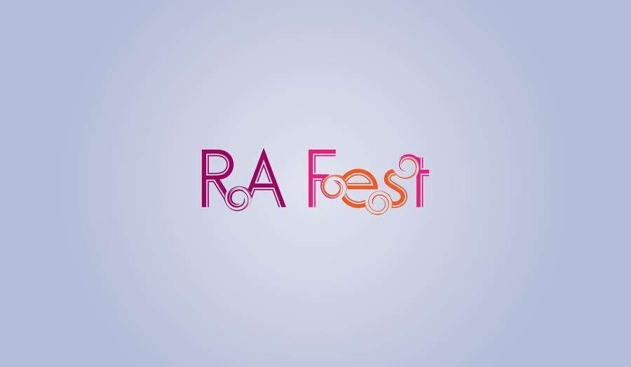 Penyertaan Peraduan #1 untuk RA Fest Logo