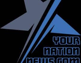 #77 untuk Design a Logo for yournationnews.com oleh kmsinfotech