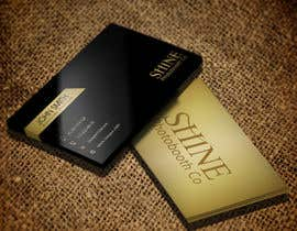 #106 for Design a Business Cards for SHINE Photobooth Co. by sarfarazk
