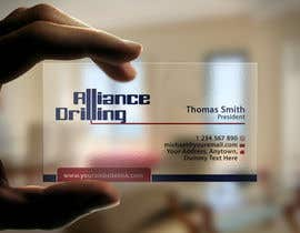 #127 for Design some Business Cards for Drilling Riggs oil & gas by flechero
