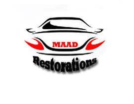 Nro 21 kilpailuun Design a Logo for Maad Restorations käyttäjältä kurinjie