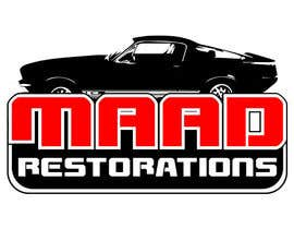 #52 for Design a Logo for Maad Restorations af hijordanvn