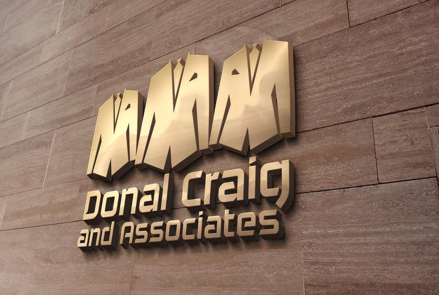 Penyertaan Peraduan #9 untuk Design a Logo for Donal Craig and Associates