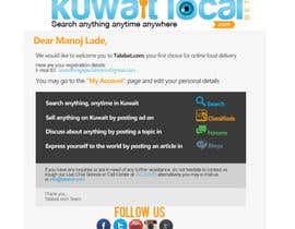 #9 for Design a Welcoming Email Template af DewDewBG
