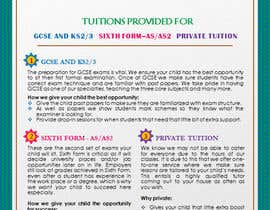 #20 for Design a Brochure for Tuition Centre & Private Tuition af nerielm25