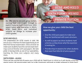 #7 for Design a Brochure for Tuition Centre & Private Tuition af mufzilkp
