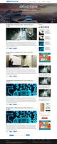 Imej kecil Penyertaan Peraduan #1 untuk Design a Website Mockup for Blog & Landing Page Template
