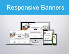#5 for responsive banner by mahiweb123