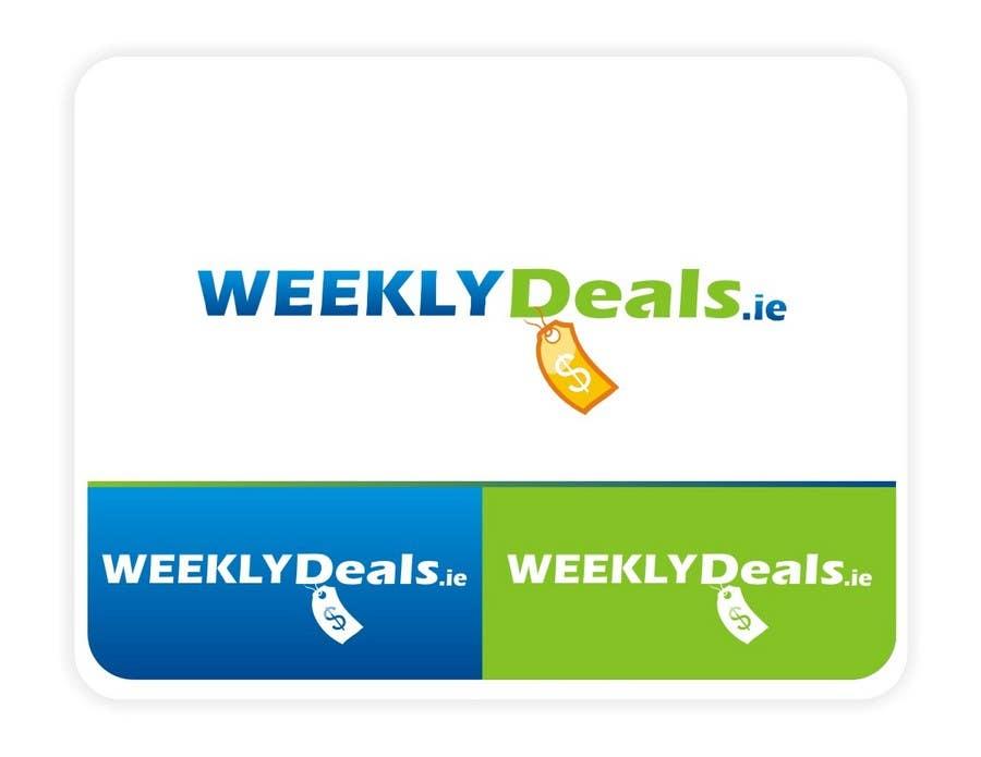 Bài tham dự cuộc thi #110 cho Logo Design for weeklydeals.ie