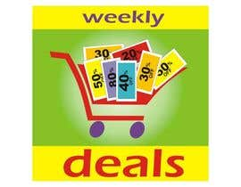 #178 cho Logo Design for weeklydeals.ie bởi innovys