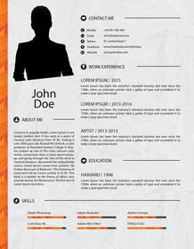 #9 for Unique Resume Design Contest af BDamian