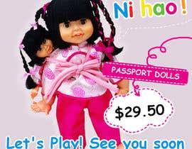 Nro 16 kilpailuun Passport Dolls käyttäjältä Maitran203