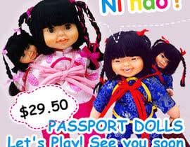 Nro 21 kilpailuun Passport Dolls käyttäjältä Maitran203