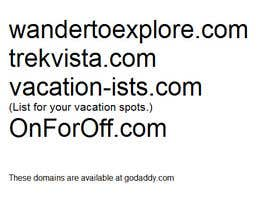 #159 untuk Domain name for a travel blog oleh Gurleenksaluja