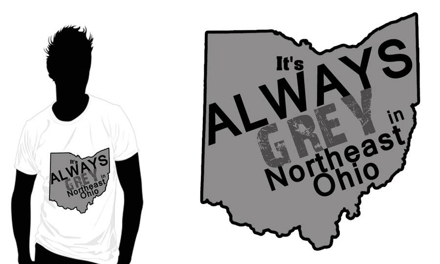 Bài tham dự cuộc thi #                                        17                                      cho                                         Design a T-Shirt for Northeast Ohio