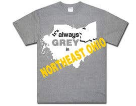 #6 for Design a T-Shirt for Northeast Ohio by bvsk3003