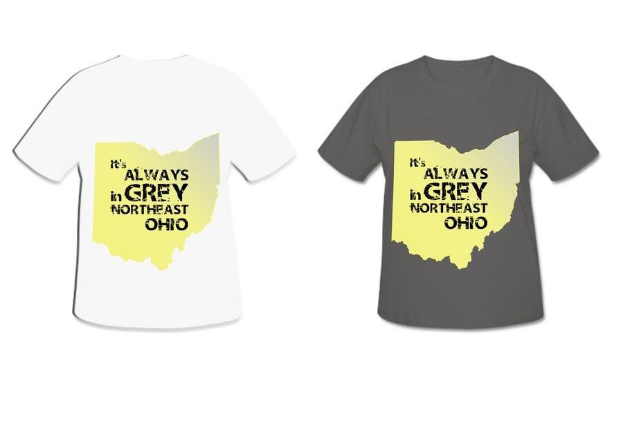 Bài tham dự cuộc thi #                                        19                                      cho                                         Design a T-Shirt for Northeast Ohio