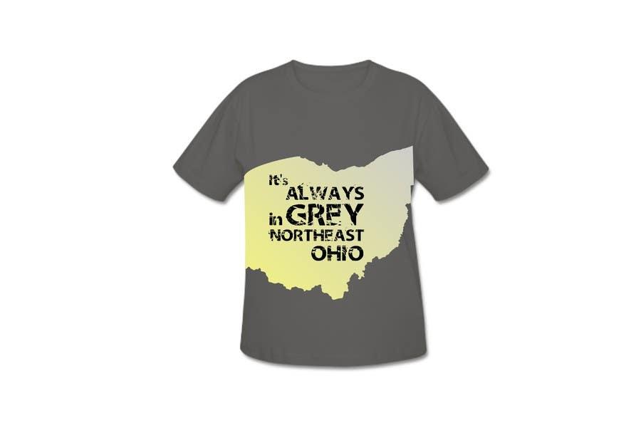 Bài tham dự cuộc thi #                                        20                                      cho                                         Design a T-Shirt for Northeast Ohio