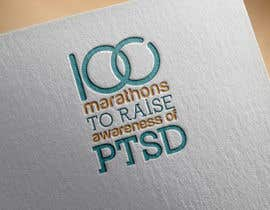 #13 untuk Design a Logo for 100 Marathons for Post Traumatic Stress Disorder oleh anatomicana