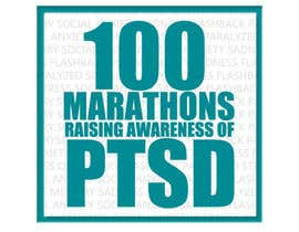 #18 untuk Design a Logo for 100 Marathons for Post Traumatic Stress Disorder oleh ovaisaslam89