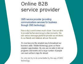#6 untuk Create attractive and incentive сopywriting in English for B2B online services oleh shawond7