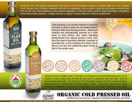 nº 10 pour Design a sell sheet - organic food product par jayanandharaja
