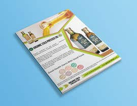 nº 14 pour Design a sell sheet - organic food product par rekatmedia