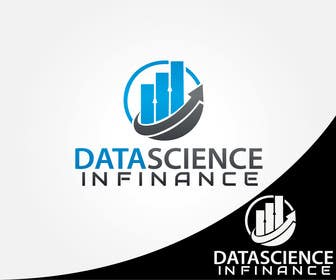 "#38 untuk Design a Logo for ""Datascience in Finance"" group oleh alikarovaliya"