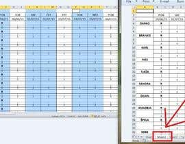 #16 for Do some Excel Work for Workers Schedule af Tonyang18