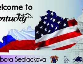 #32 untuk Foreign Exchange Student Welcome Banner oleh adri13rivas