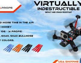 #28 for Design a Banner for Indestructible Propellers af adidoank123