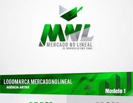 #11 para Diseñar un logotipo mercadonolineal.com por artmx
