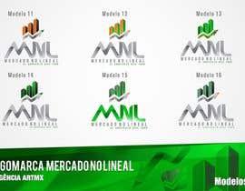 #36 para Diseñar un logotipo mercadonolineal.com por artmx
