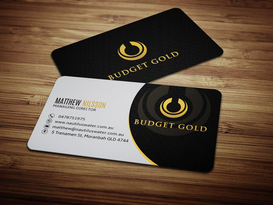 Entry #27 by anikush for Design Business Cards for Gold Education ...