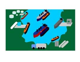 hennyuvendra tarafından Illustrate Something for maritime logistics for LNG için no 10