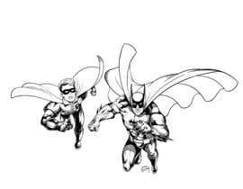 #2 cho 1960,s style Batman and Robin cartoon bởi Roystenmania