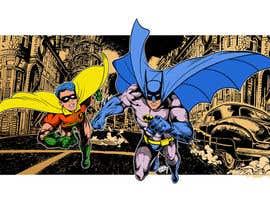Nro 15 kilpailuun 1960,s style Batman and Robin cartoon käyttäjältä Roystenmania