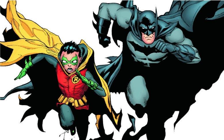 Kilpailutyö #18 kilpailussa 1960,s style Batman and Robin cartoon