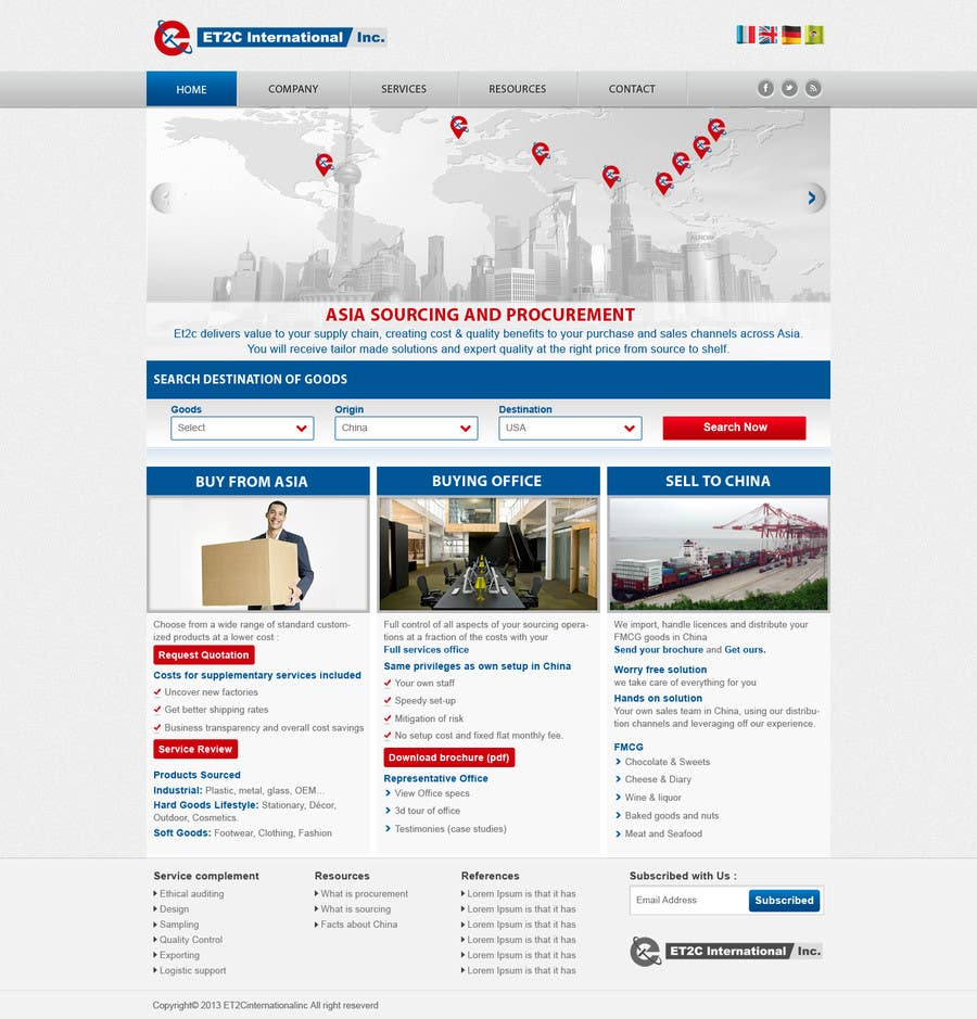 #191 for Single Homepage needs redesign by kosmografic
